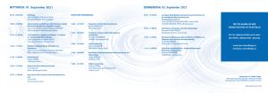 Umwelttage 2021 Programm